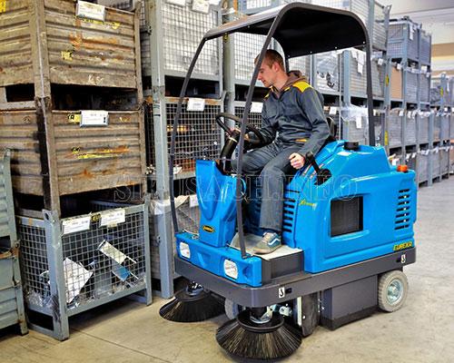 máy quét rác dành cho nhà xưởng
