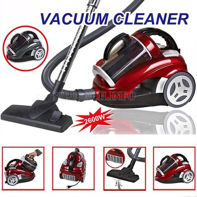 Máy hút bụi Vacuum Cleaner đang được ưu ái sử dụng hiện nay