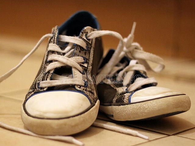 hướng dẫn làm sạch giày vải