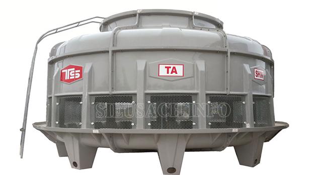 Tháp giải nhiệt dần được sử dụng rộng rãi trong các nhà máy, xưởng sản xuất