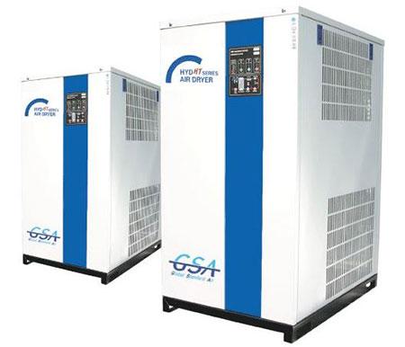 Hình ảnh máy sấy khí tác nhân lạnh