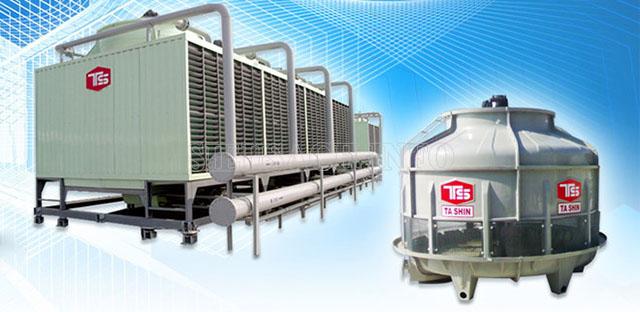 Tháp giải nhiệt dần được sử dụng tương đối phổ biến tại nhiều doanh nghiệp, cơ sở sản xuất