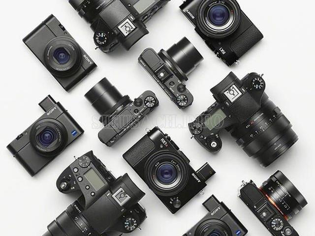 Tổng hợp danh sách máy ảnh Sony