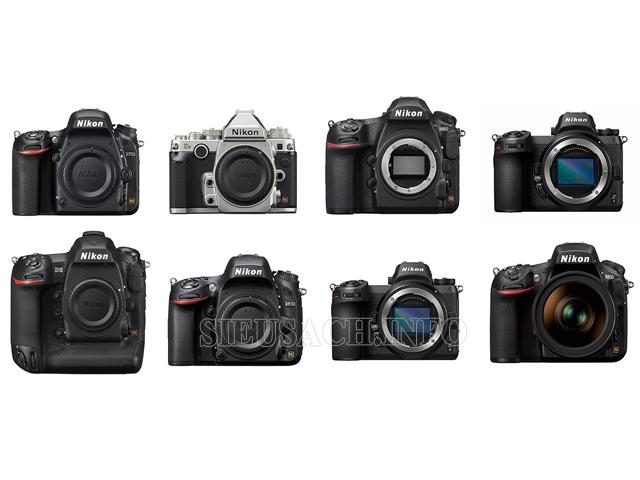 Tổng hợp danh sách những máy ảnh siêu nét đáng mua