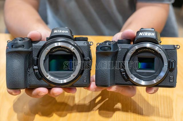 máy ảnh không gương lật là gì cảm biến