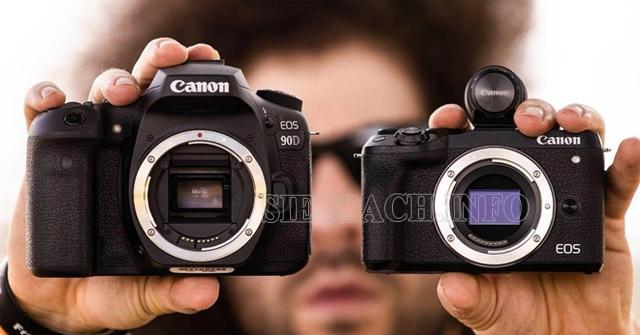 cảm biến máy ảnh dslr là gì