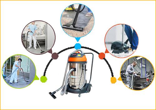 Máy hút bụi công nghiệp Palada cho hiệu quả làm sạch cao