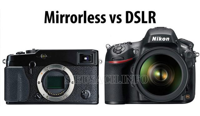máy ảnh không gương lật là gì kích thước
