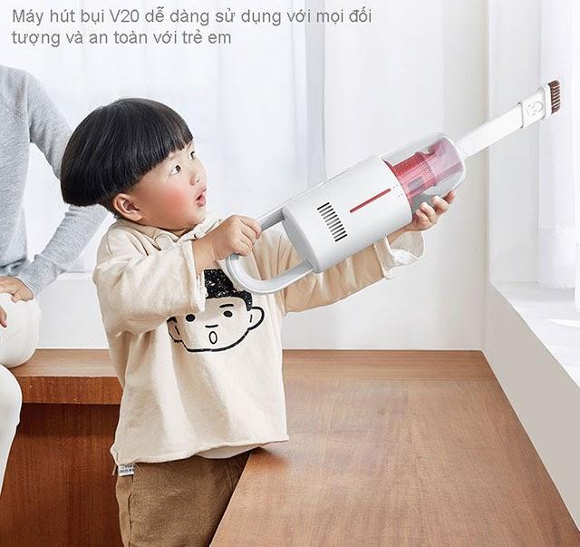 Sản phẩm hút bụi không dây Deema VC20S