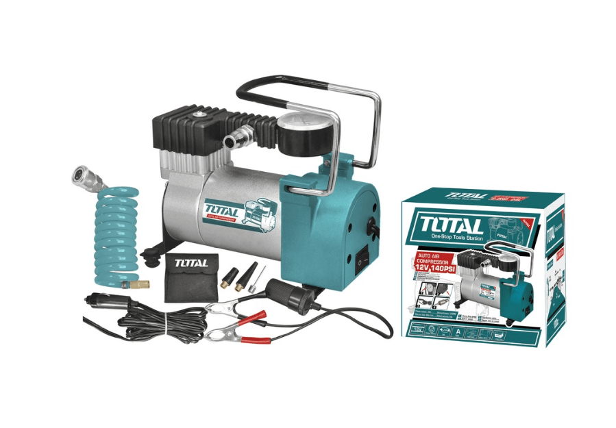 máy nén khí Total 12v TTAC1401
