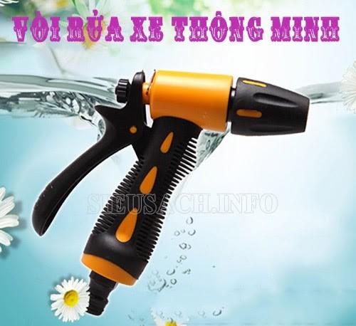 Phụ kiện đi kèm máy rửa xe