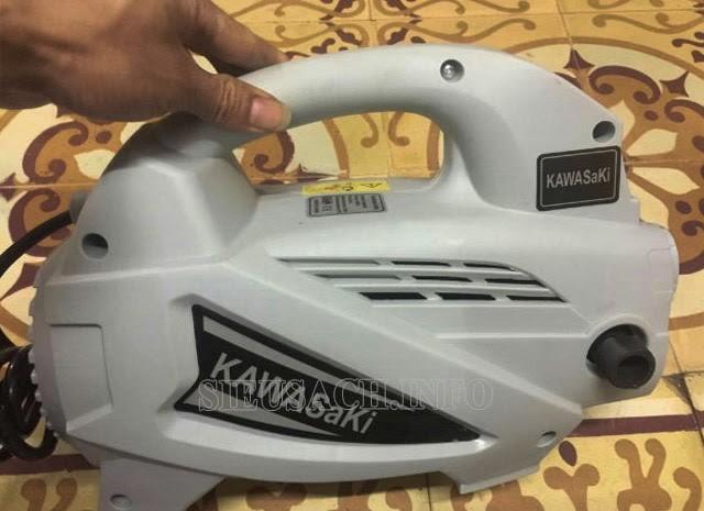 Vẻ ngoài nhỏ gọn của Kawasaki 1800w