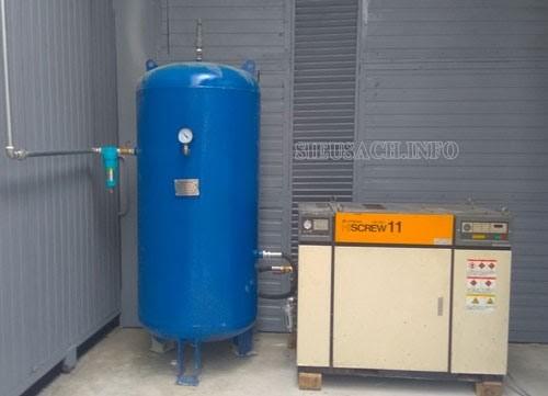 Thể tích bình nén khí là yếu tố cần được quan tâm khi bạn có nhu cầu chọn mua máy