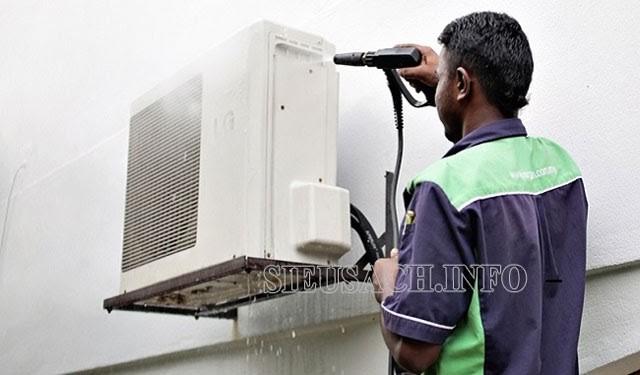 Máy bơm rửa điều hòa có nhiều công dụng hữu ích