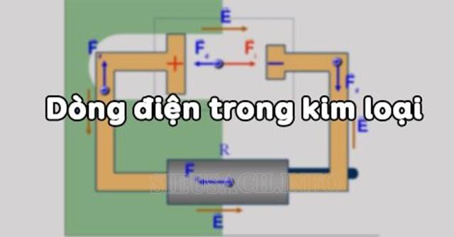 Tìm hiểu chi tiết về dòng điện có trong kim loại