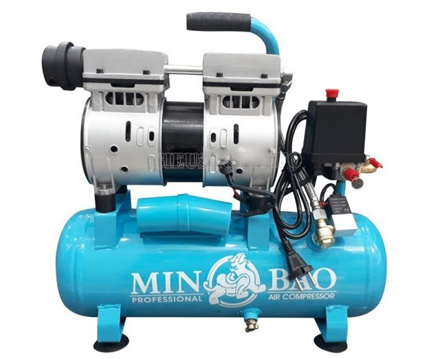Máy nén không khí 0.75HP Minbao