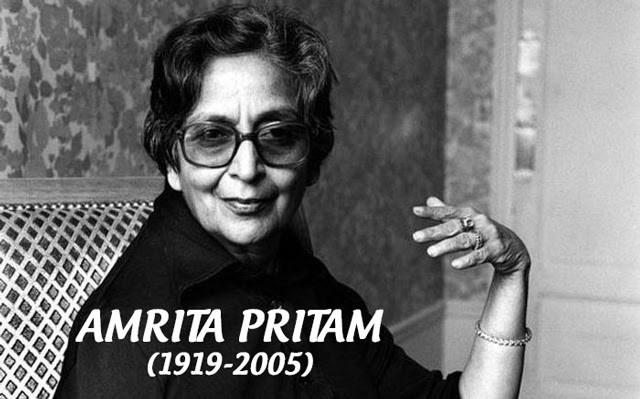 Amrita Pritam - nữ sĩ hàng đầu Ấn Độ