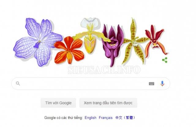 Bức tranh hoa Lan vinh danh giáo sư Rapee Sagarik