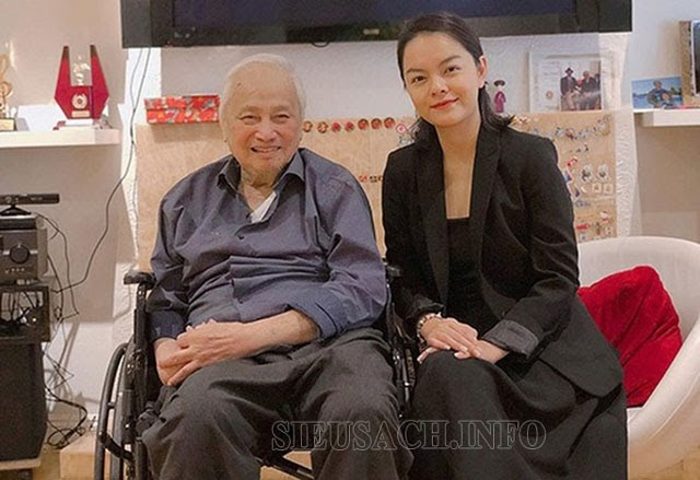 Ca sĩ Phạm Quỳnh Anh và nhạc sĩ Lam Phương