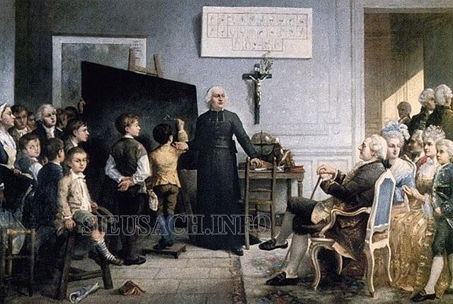 Charles Michèle de L'epée đưa phương thức mới đến những người bị điếc trong mọi tầng lớp
