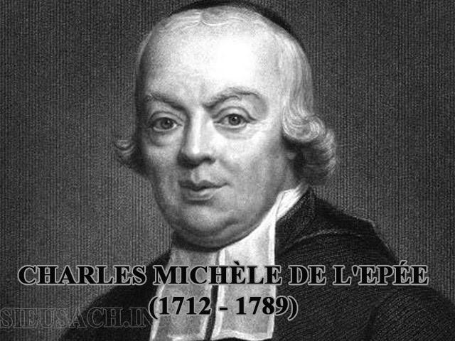Charles Michel de L'epée là ai?