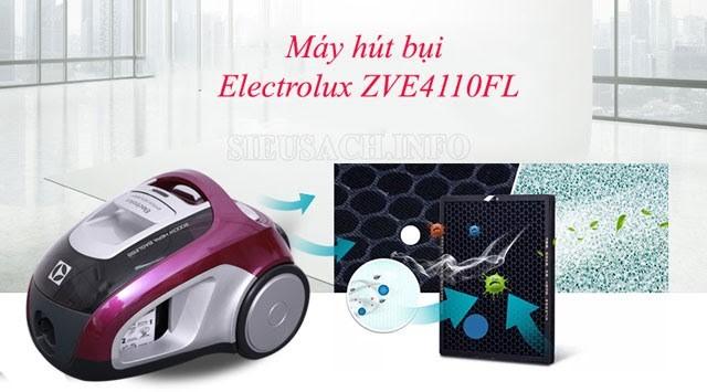 Máy hút bụi Electrolux ZVE4110FL