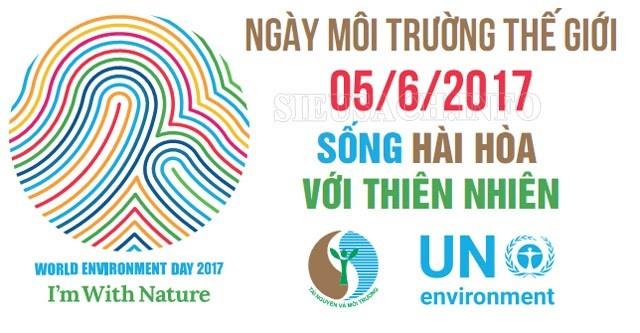 Ngày môi trường thế giới 05/06/2017