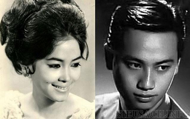 Nhạc sĩ Lam Phương và Túy Hồng thời trẻ
