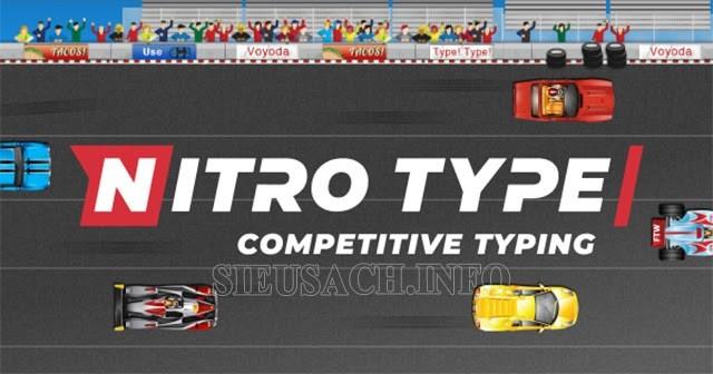 Nitro Type Race kiểm tra tốc độ đánh máy với bạn bè