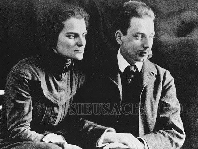 Rainer Maria Rilke và vợ