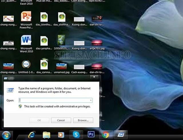 """Sử dụng tổ hợp phím """"Windows + R"""" để mở CMD"""