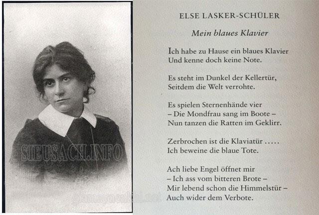 Tập thơ Mein blaues Klavier