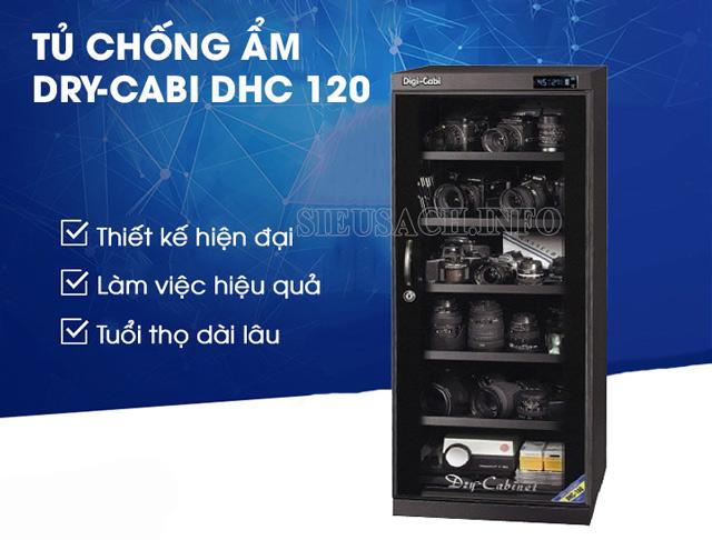 Top 5 tủ hút ẩm Dry-Carbi DHC-120