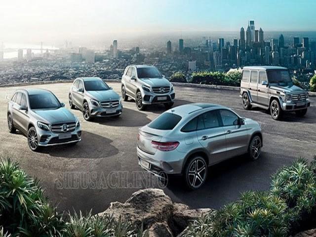 Các dòng xe Mercedes benz