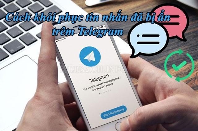 Cách khôi phục tin nhắn trên telegram