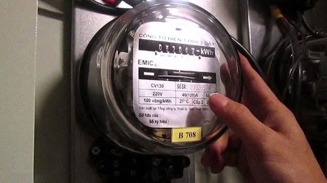 Công tơ điện ngày nay được cải tiến từ công tơ điện của Edison