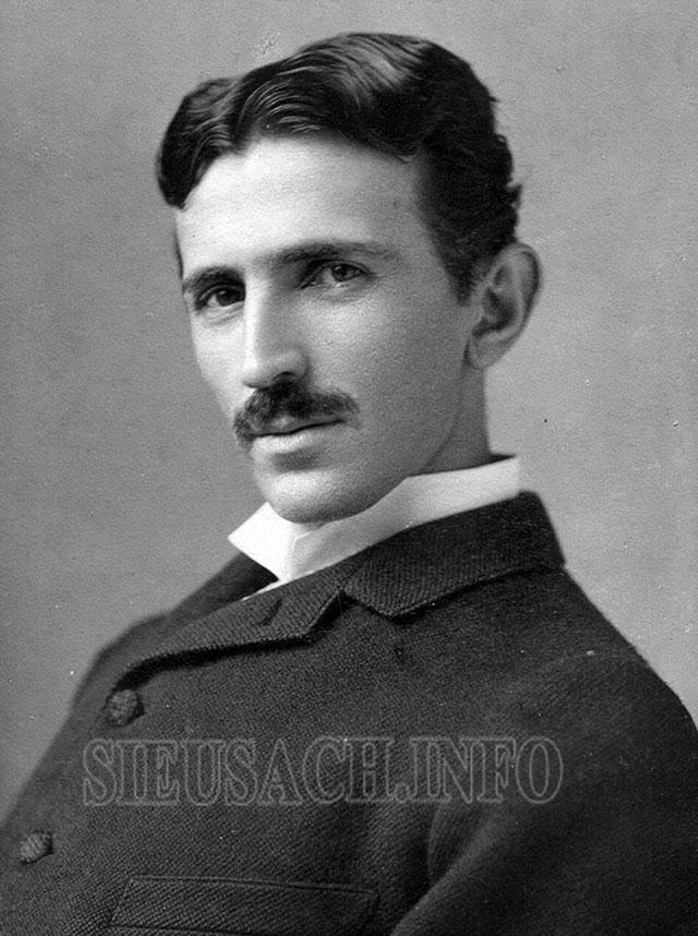 Chân dung của Nikola Tesla