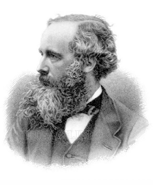 Chân dung nhà vật lý Maxwell