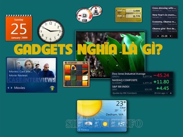 Gadget nghĩa là gì?