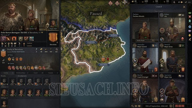 Game chiến thuật onle Pc -Crusader Kings III