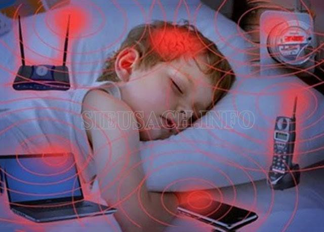 Không nên ngủ tại những nơi có nguồn điện từ trường