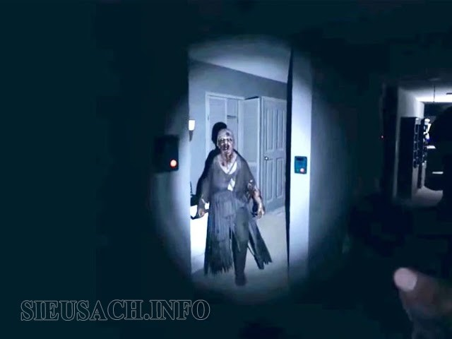 Một cảnh trong game Phasmophobia