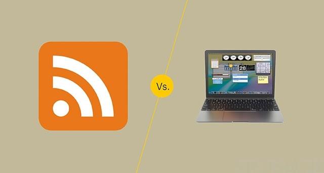 Phân biệt Gadget và Widget