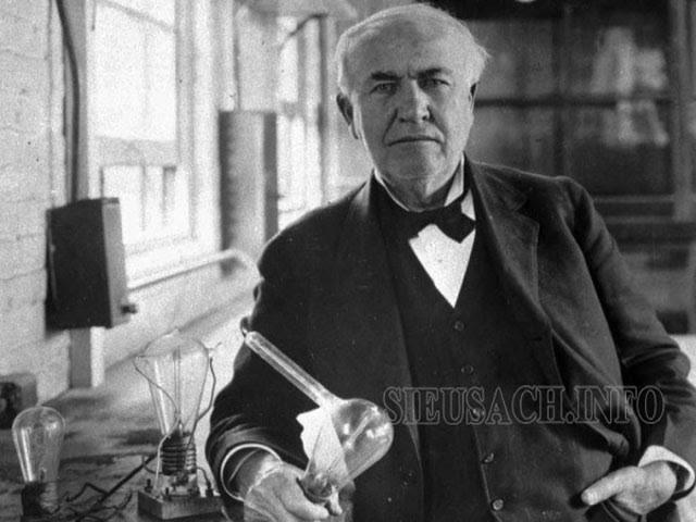 Thomas Edison - người phát minh ra bóng đèn sợi đốt