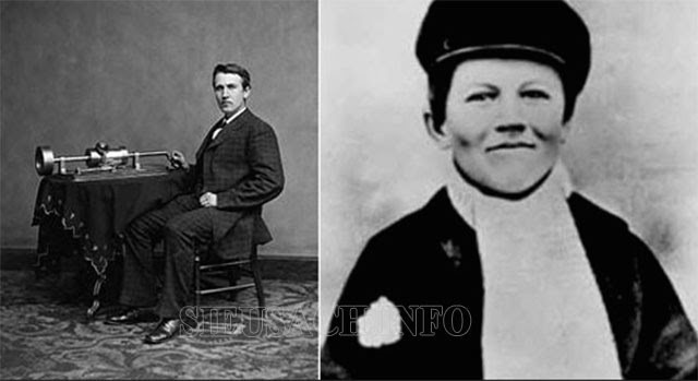 Thomas Edison thời trẻ