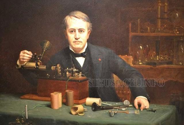 Thomas Edison trở thành nhà phát minh từ khi còn trẻ