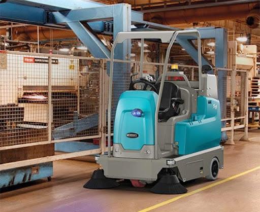 Hiệu quả vệ sinh vượt trội với máy chà sàn nhà xưởng Tennant