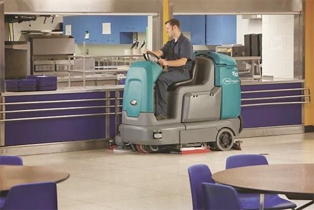 Bạn nghĩ sao về việc đầu tư máy lau sàn Tennant T12?