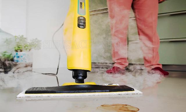 Karcher sử dụng công nghệ hàng đầu mang đến khả năng làm sạch vượt trội
