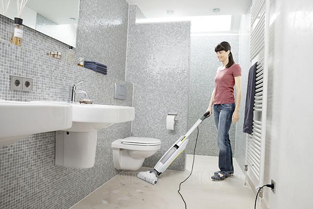 Dễ dàng vệ sinh tại nhiều không gian, hút bụi khô, hút nước hiệu quả